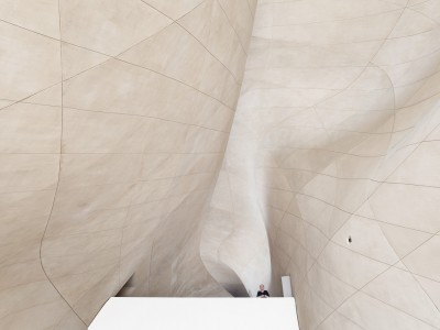 The Museum of the History of Polish Jews / architect: Rainer Mahlamäki / photo: Photo Room